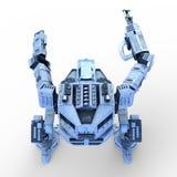 Robot di battaglia Fotografie Stock