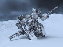 Robot di battaglia Fotografie Stock Libere da Diritti
