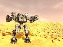 Robot di battaglia Immagine Stock Libera da Diritti