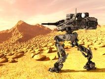 Robot di battaglia Immagini Stock Libere da Diritti