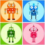Robot di colore Fotografia Stock Libera da Diritti