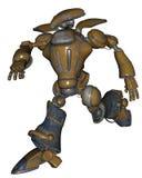 Robot di fantascienza illustrazione di stock