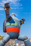 Robot di Gigantor (Tetsujin 28) a Kobe, Giappone Fotografie Stock