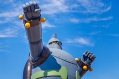 Robot di Gigantor (Tetsujin 28) a Kobe, Giappone Fotografie Stock Libere da Diritti