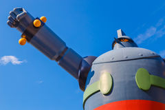 Robot di Gigantor (Tetsujin 28 va) Immagini Stock Libere da Diritti