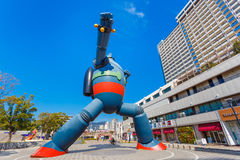 Robot di Gigantor (Tetsujin 28 va) Fotografie Stock Libere da Diritti