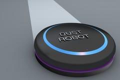 Robot di pulizia di vuoto Immagini Stock Libere da Diritti