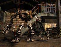 Robot di Steampunk Fotografia Stock Libera da Diritti