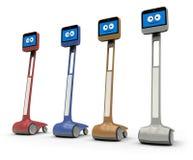 Robot di Telepresence Immagine Stock