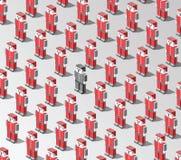 Robot di vettore Immagini Stock