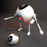 robot dialogu Obraz Royalty Free