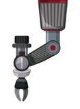 Robot digital design. Royalty Free Stock Photo