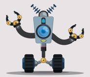Robot digital design. Stock Photos