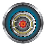Robot Digital eye. Illustration of Cyber eye symbol icon Royalty Free Stock Photography