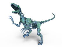 Robot dinosaur Stock Images