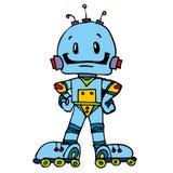 Robot divertente Immagine Stock Libera da Diritti