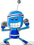 Robot divertente Fotografia Stock