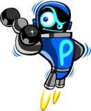 Robot divertente Immagini Stock