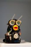 Robot divertente Handmade Immagini Stock