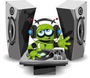 Robot DJ royalty illustrazione gratis
