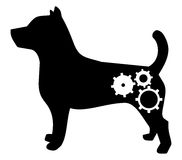 Robot dog Royalty Free Stock Image