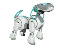 Robot Dog on the Watch Stock Photography