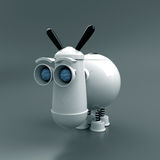 Robot-donkey. Robot-ass is a pet, that has live reaction to the touch, the character is not formed Stock Photo