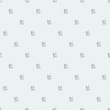 Robot doodles pattern. Stock Photography