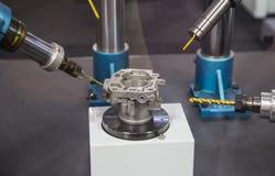 Robot drilling machine royalty free stock image