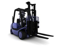 Robot Driving a  Lift Truck Stock Photography