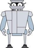 Robot droid. Vector eps 10 stock illustration