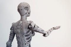 Robot dziewczyna Zdjęcia Royalty Free