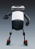 Robot effectué à partir des pièces d'auto Image stock