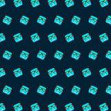 Robot - emoji pattern 79 royalty free illustration
