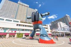 Robot en Kobe imagenes de archivo