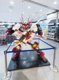 Robot en la tienda de la base de Gundam, Seul Fotografía de archivo libre de regalías