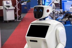 Robot on the exhibition Royalty Free Stock Photo