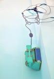 robot för 2 pöl Royaltyfria Foton