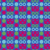 Robot face seamless pattern. Suitable for screen, print and other media Stock Photo