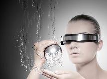 robot femelle Images libres de droits