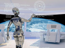 The robot Royalty Free Stock Photography