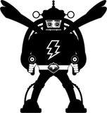 Robot fresco di mecha del fumetto Immagini Stock Libere da Diritti
