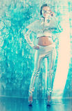 Robot girl Royalty Free Stock Photo
