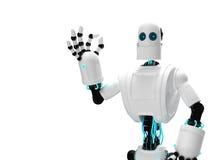 Robot and giving ok Stock Photography