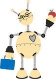 Robot Going To School Stock Photos