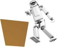 Robot Guide Royalty Free Stock Photo