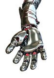 Robot Hand Reaching Forward Royalty Free Stock Images