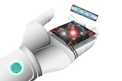 Robot hand. Stock Images