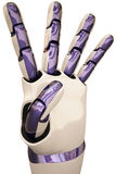Robot hands Stock Photography