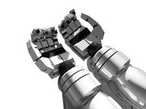 Robot hands Royalty Free Stock Images